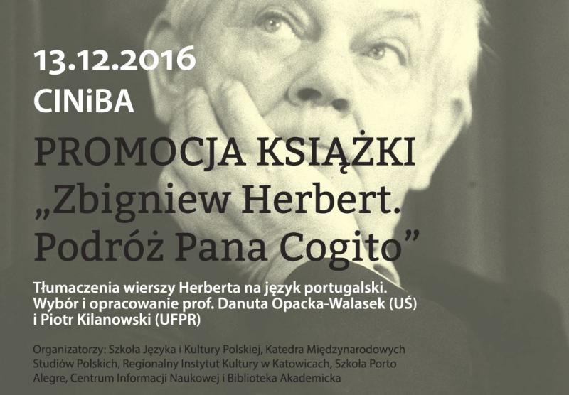 Promocja Książki Zbigniew Herbert Podóż Pana Cogito